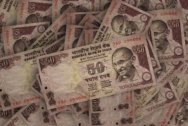 rupees-notes India Mahatma Ghandi