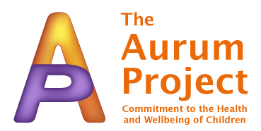 The Aurum Project name and logo