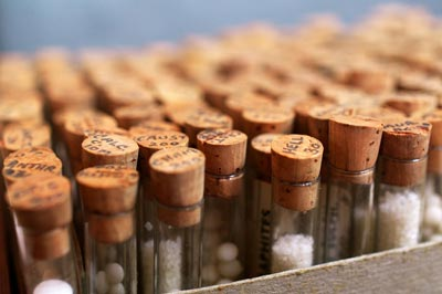 cork-lids-on-homeopathy-bottles
