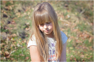 silicea girl with molluscum contagiosum