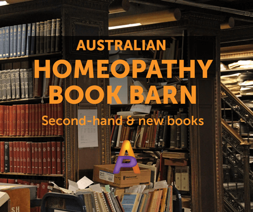 Homeopathy Book Barn