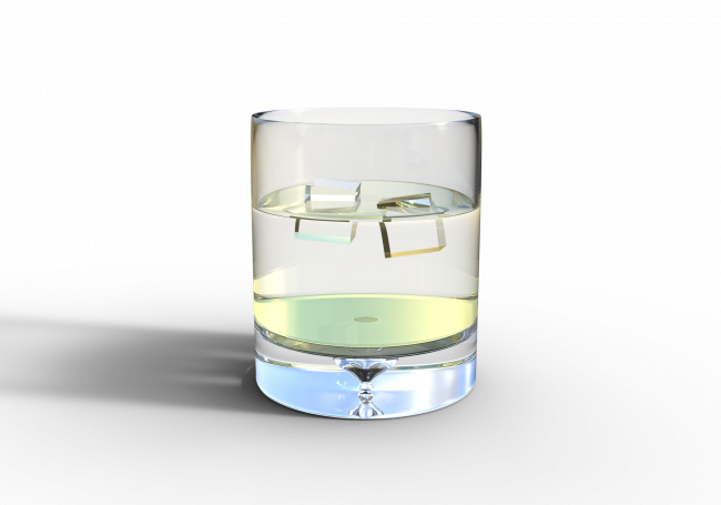 research about plausible homeopathy explores the properties of water for example: ice in a glass of water