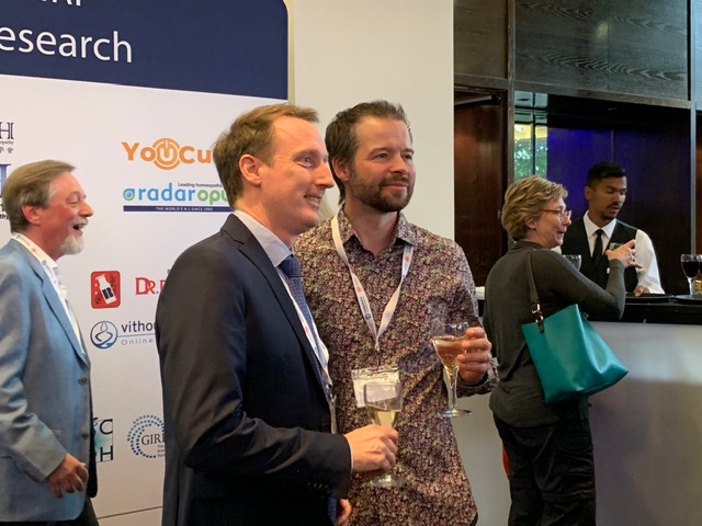 Dr Alex Tournier & Mani Norland attending the HRI Conference 2019