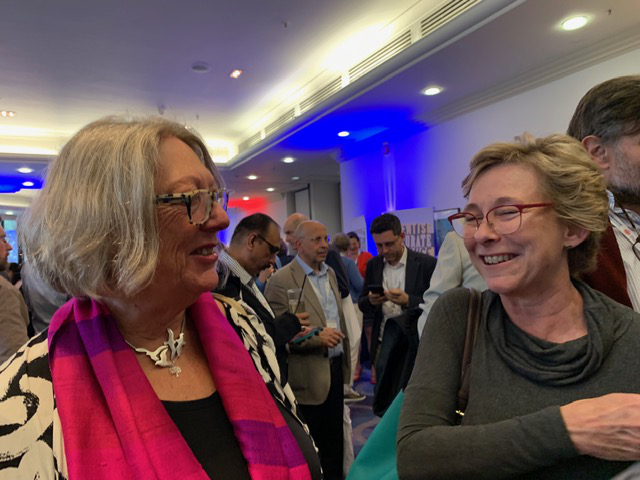 Jenni Tree and Susan Blackshaw attending the HRI Conference 2019