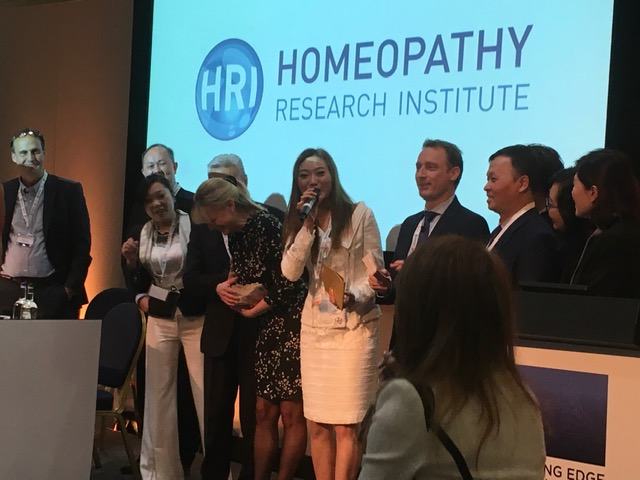 Hong Kong Homeopaths donating to Homeopathy Research