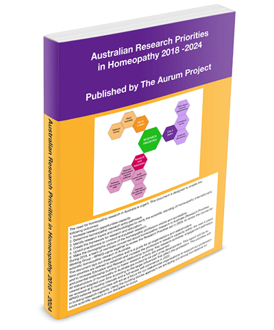 Australian-Research Priorities in Homeopathy booklet 2018-2024