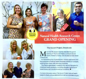 Aurum Project Homeopathy Research Institute Centre Grand Opening