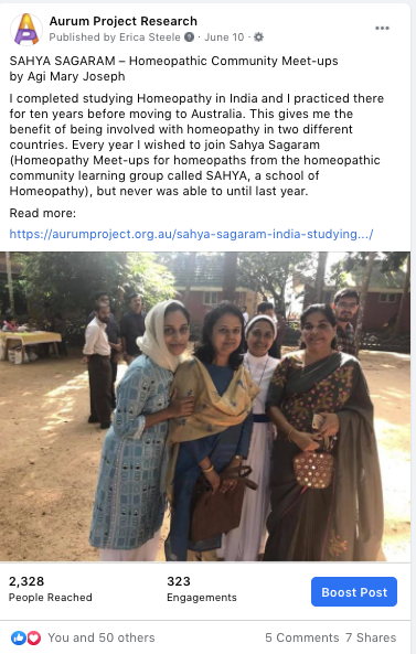 Studying Homeopathy in India Aurum project Blog