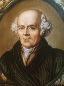 Hahnemann founder of homeopathy and author of chronic diseases